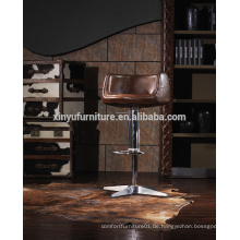 Hochwertiger Leder Barhocker Stuhl A619