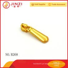 2015 moda ouro metal zíper puxa, bagagem, caso e casos zipper pullers