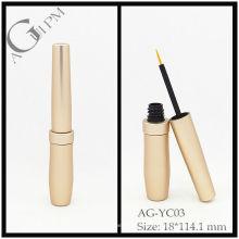 Aluminium rond Eyeliner Tube/Eyeliner conteneur AG-YC03, AGPM empaquetage cosmétique, couleurs/Logo personnalisé