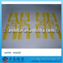 Poignée en plastique cheveux peigne injection moulage peigne moulage par injection