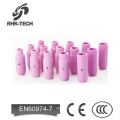 10N series ceramic nozzle / torch handle for tig welding spare parts