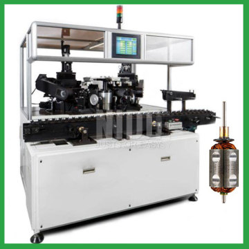 Automatic armature balancing machine