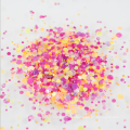 Forma redonda Mix Dots Sequin Mixed Chunky Glitter Flake