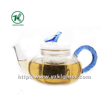 Clear Single Wall Glass Teapot by SGS... (750ML)