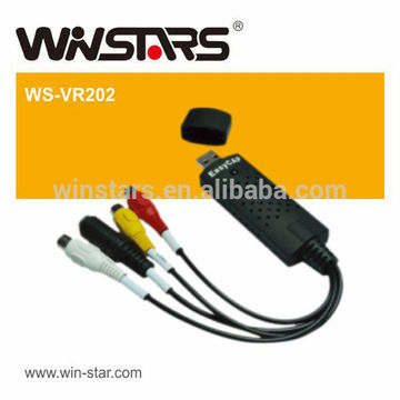 USB 2.0 Easy Capture with USB video/audio controller,usb 2.0 video adapter
