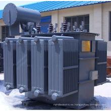 El transformador de rectificador de corriente de inmersión de aceite de 10kv / 33Kv / 69kv a