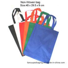 Promotion kundenspezifische PP Laminated Non Woven Tasche für Shopping