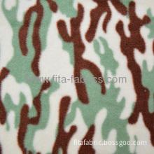 Polyester Military/army Desert Camouflage Printed Polar Fleece Fabric