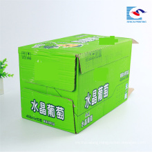 High quality custom drinks corrugated packaging box manufacturers