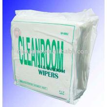 Essuie-glace de salle blanche de polyester (ventes directes d'usine)