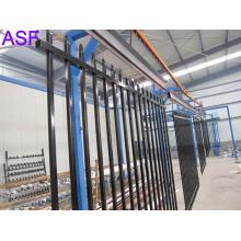Schwarz Farbe Pulverbeschichtet Sicherheit Fencing Panel