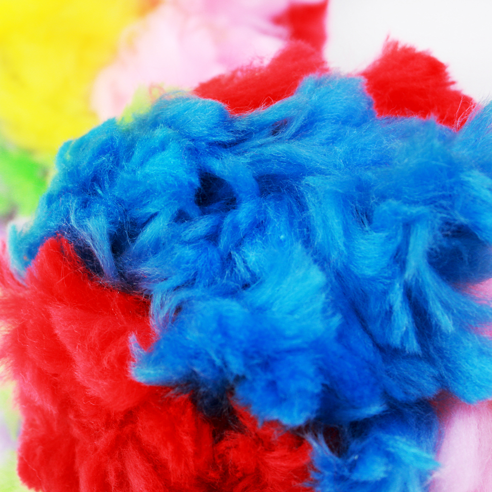 multicolorful Craft custume Pompom