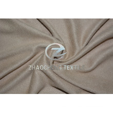 2 Ways Stretch Knitted Micro Suede with Soft Handfeel for Clothes