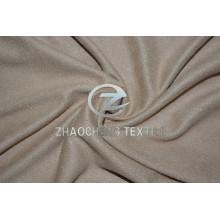 Двухсторонняя эластичная трикотажная микрозамша с мягким ощущением на ощупь для одежды