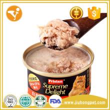 Кошка консервированная еда кота еда популярная