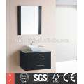Hot Selling Extremely diseña el armario negro del espejo del cuarto de baño que se desliza