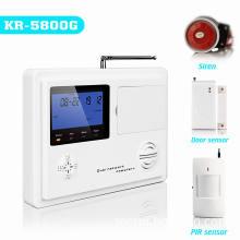 Smart LCD GSM&PSTN Home Intruder Alarm System (KR-5800G)