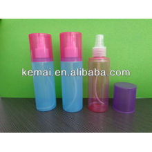 Frasco de spray de plástico com grande tampa