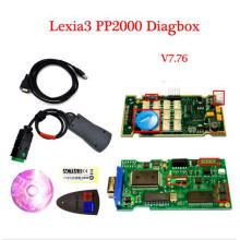 Lexia3 herramienta de diagnóstico PP2000 para Citroen para Peugeot Diagbox escáner