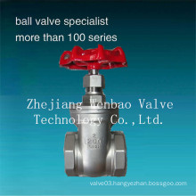 Female Threaded Full Port Non-Rising Stem Gate Valve