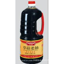 1.7L Pilz Dunkle Sojasauce mit bester Qualität