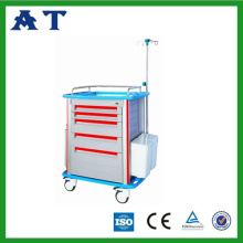 Plastic Emergency medicine trolley