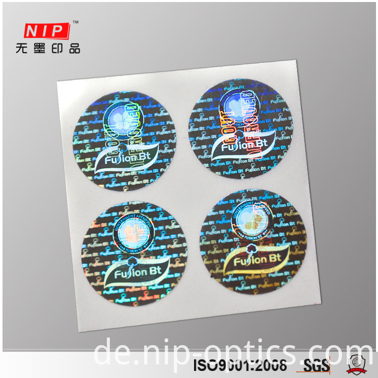 Custom Holographic Stickers