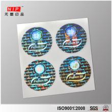 Adesivos de selo de segurança holográfico 3D personalizado