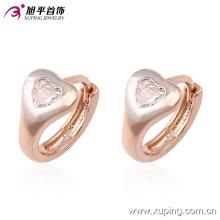 Popular moda Xuping Multicolor Elegante en forma de corazón joyería de traje pendiente en aleación de cobre para mujer -90223