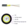 Fábrica de suministro de fibra óptica de cable Single Mode Anuncios 12,24, 48, 72, 96, 144 FTTH / FTTX cable de fibra exterior de fibra, cable de fibra GYXY