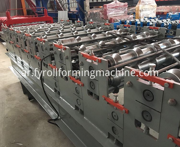 double layer roll forming machine 9