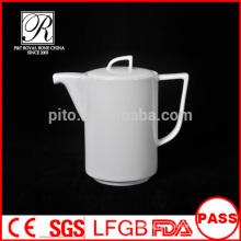 P&T porcelain factory wholesale fashion tea pot, two size pot, porcelain pot