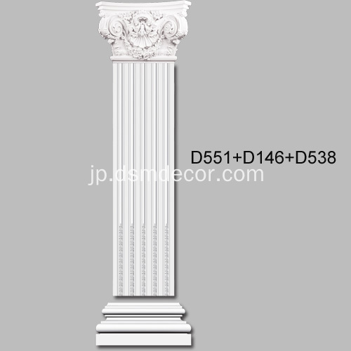 大コリントのPU Pilaster Capital