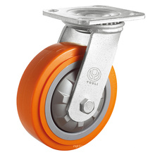 Heavy Duty PP Caster (Orange)