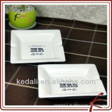 China-Fabrik-Großverkauf-keramischer Porzellan-Zigaretten-Aschenbecher