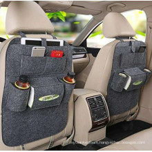 China bag factory offering felt bag in car
