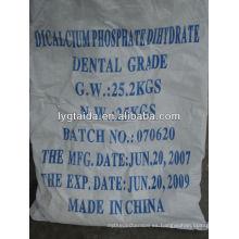 Dihidrato de fosfato dicálcico (grado dental)