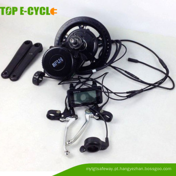 Meados de unidade bafang 8fun brushless motor kits de conversão de bicicletas elétricas