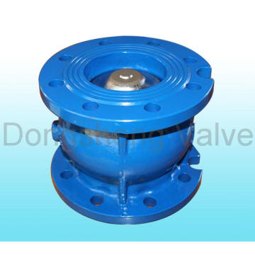 Gusseisenflansch End Silent Check Valve Pn16