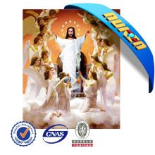 Amostra grátis Lenticular Jesus Cristo 3D Pictures