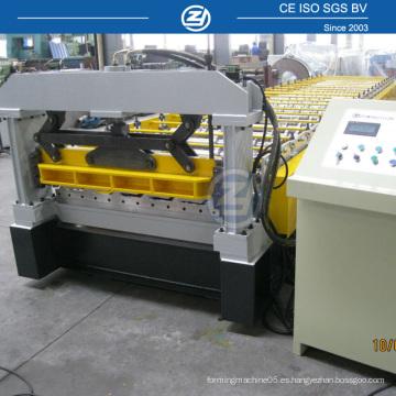 Construcción de la máquina formadora de rollo para la fabricación de techos