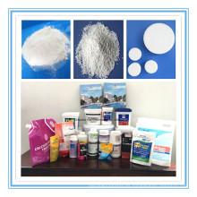 Tableta de ácido cianúrico para el tratamiento del agua Estabilizador químico (cloro estabilizado)