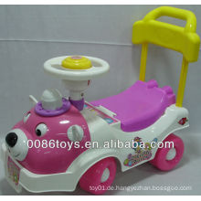 Kinder fahren mit dem Auto
