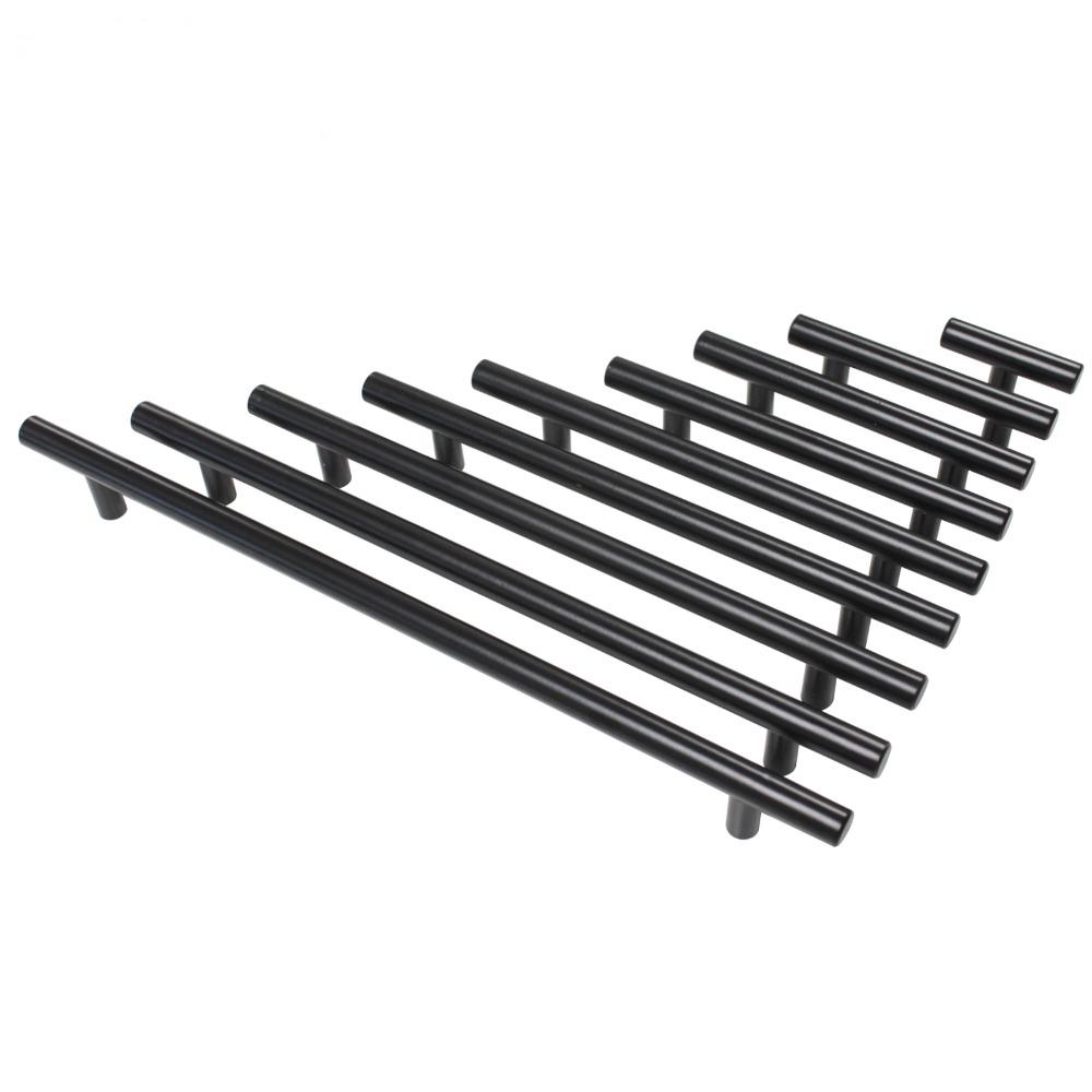 Probrico-Stainless-Steel-Black-Diameter-12mm-Hole-Center-50mm-256mm-Kitchen-Cabinet-T-Bar-Door-Knob (1)