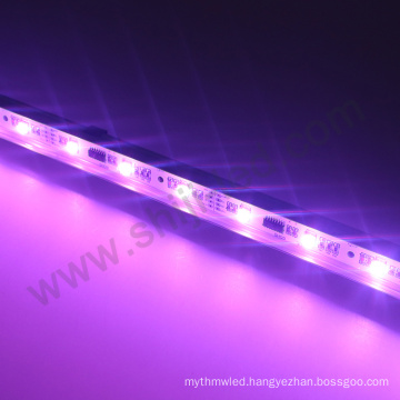 Aluminium strip price housing bar profile 5050 rgb multi color 6803 ic 12v led strip light