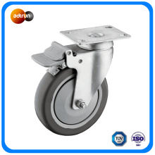 5 Inch Swivel PU Trolley Caster Wheel