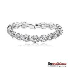 Cubic Zirconia CZ Cluster Bracelets for Women (CBR0038-B)