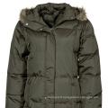 usine de Chine eco-friendly Dames pliables blazer veste gris
