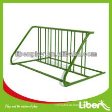 Flexible Stufen Fahrradständer aus verzinkten Stahlrohren LE.CT.002
