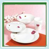 Round Shape Ceramic Dinner Set, 16pcs Porcelain Dinnerware, Tableware